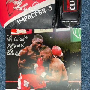 Frank Bruno Mike Tyson Against the Ropes PAcage
