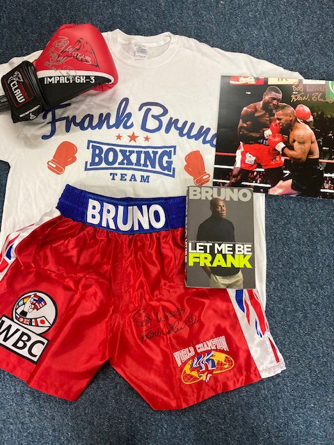 The Knockout Package from Frank Bruno