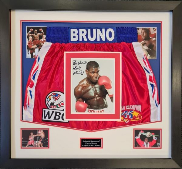 Frank Bruno Sign Trunks 2021