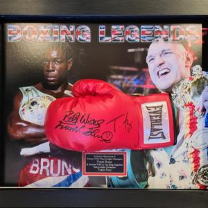 Tyson Fury & Bruno Glove Frame 2021